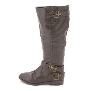 Rampage Womens IDOLA (Wide Calf) Closed Toe Mid-Calf Cowboy Boots (2 options available)