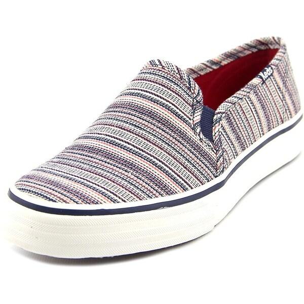 Keds Double Decker Americana Stripe Women Round Toe Canvas Multi Color Sneakers