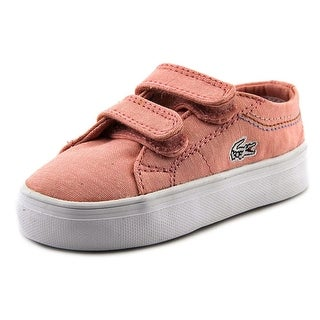 Lacoste Marcel Chunky SEG SPI Toddler Round Toe Synthetic Pink Sneakers