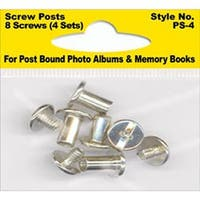 8 Posts (4 Sets) - Screw Post Extenders Male/Female End Post