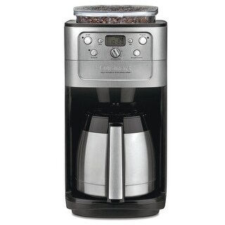 Cuisinart DGB-900BC Burr Grind & Brew Thermal 12 Cup Automatic Coffeemaker, Stainless Steel