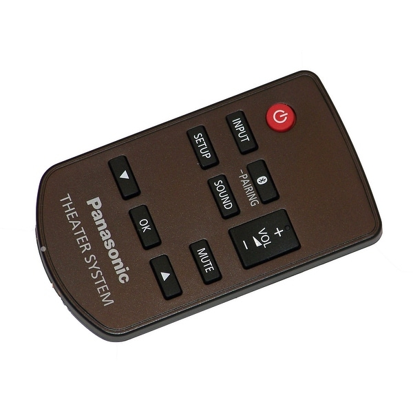 OEM Panasonic Remote Control Originally Shipped With: SCHTB580, SC-HTB580, SCHTE80, SC-HTE80