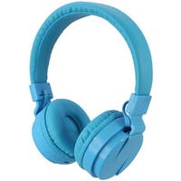 Bluetooth Wireless Headphones with Microphone, Blue