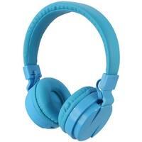 Ilive IAHB6BU Bluetooth Wireless Headphones with Microphone, Blue