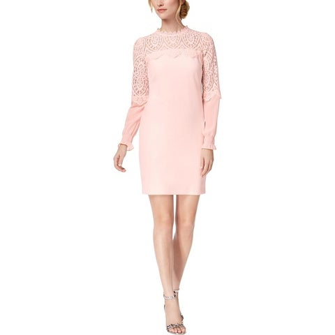 Kensie Womens Special Occasion Dress Lace Illusion