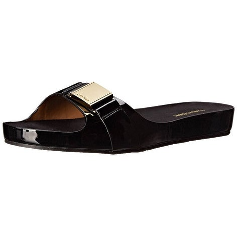 Calvin Klein Womens Marlie Open Toe Casual Slide Sandals