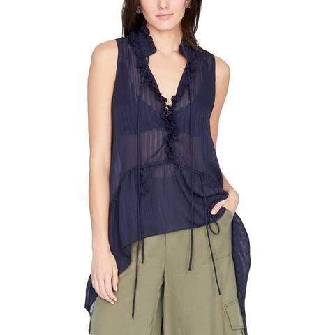 Rachel Rachel Roy Womens Pullover Top Sleeveless Hi-Low