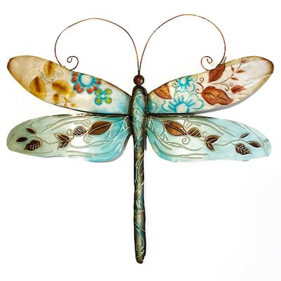 Handmade Dragonfly Blue And Pearl