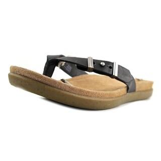 UGG Collection Sela Women Open Toe Leather Multi Color Flip Flop Sandal