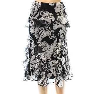 Lauren Ralph Lauren NEW Black White Print Womens Small S A-Line Skirt|https://ak1.ostkcdn.com/images/products/is/images/direct/2b3ba64d6bc3bdabdf5d09eb958a0b02ebe68786/Lauren-Ralph-Lauren-NEW-Black-White-Print-Womens-Small-S-A-Line-Skirt.jpg?impolicy=medium