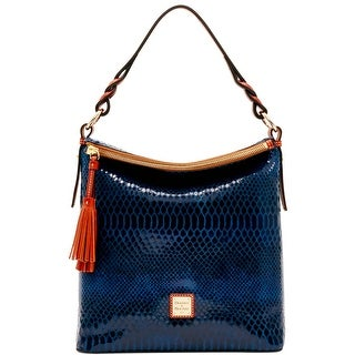 Dooney & Bourke Snake Small Sloan (Introduced by Dooney & Bourke at $288 in Nov 2016) - Blue