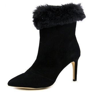 INC International Concepts Leena Pointed Toe Suede Bootie