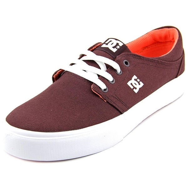 DC Shoes Trase TX W Round Toe Canvas Skate Shoe