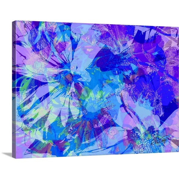 """""""Beauty Within Blue Violet"""" Canvas Wall Art"""