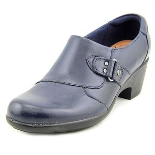 Clarks Narrative Genette Harper Round Toe Leather Loafer