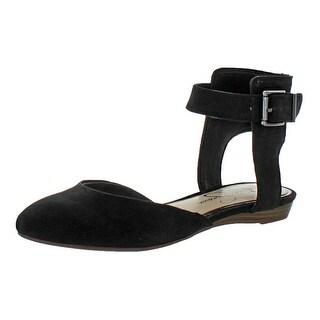 Jessica Simpson Loranda Women's Ankle Strap Ballet Flats