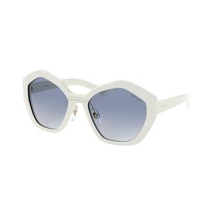 Link to Prada PR 08XS 7S3714 55 Ivory Woman Irregular Sunglasses Similar Items in Women's Sunglasses