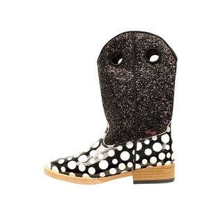 Blazin Roxx Boots Girls Cow Boys Pearl Kids Glitter Black (3 options available)