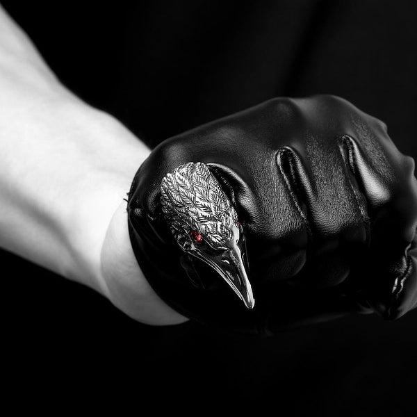Vienna Jewelry The Falcon's Beak Stainless Steel Ring