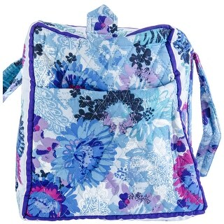 Watercolor - Mary Maxim Quilted Duffle Bag
