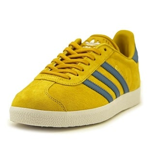 Adidas Stan Smith Fashion J Youth Round Toe Leather Yellow Sneakers