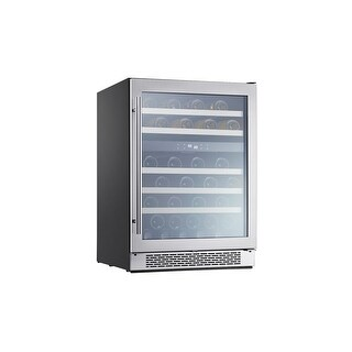 Zephyr PRW24C02AG 24 inch Wide 46 Bottle Capacity Wine Cooler - STAINLESS STEEL - N/A