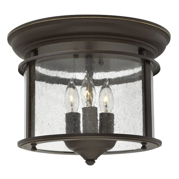 Hinkley Lighting 3473 3-Light Semi-Flush Ceiling Fixture from the Gentry Collection
