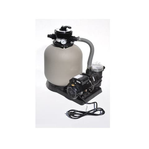 """14"""" Sand Filter Combo - 0.5 HP"""
