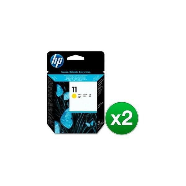 HP 11 Yellow Printhead (C4813A) (2-Pack)
