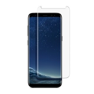 Samsung Galaxy S8 Plus Premium Tempered Glass [2 Pack]Clear, Curved Full Screen