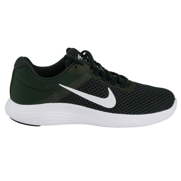 9fcedb59307e Shop Nike Men s Lunar Converge 2 Shoes - Sequoia White Black - On ...