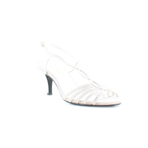 Caparros Sabrina Women's Heels Nude Glimmer - 9