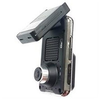 Dual HD Dash Cam DVR with Built-In Front & Back , Cameras & GPS