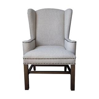 GuildMaster 6525301 Alcott 42 Inch Tall Wood Arm Chair