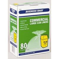 Berry Plastics 618642 Commercial Large Trash Can Liners