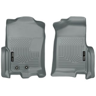 Husky Weatherbeater 2012-2016 Ford Expedition XLT Grey Front Floor Mats/Liners