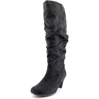 Aerosoles Running Play Women  Round Toe Synthetic Black Knee High Boot