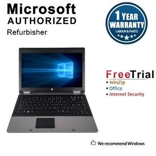 Refurbished HP ProBook 6450B 14.0'' Laptop Intel Core i5-520M 2.4G 4G DDR3 250G DVDRW Win 7 Pro 64-bit 1 Year Warranty - Black