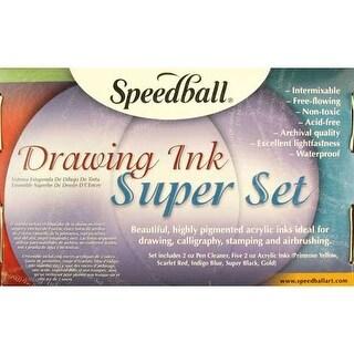 Speedball - Drawing Ink Super Set