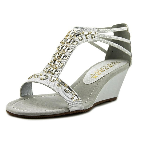 New York Transit Bright Light Women W Open Toe Synthetic Sandals