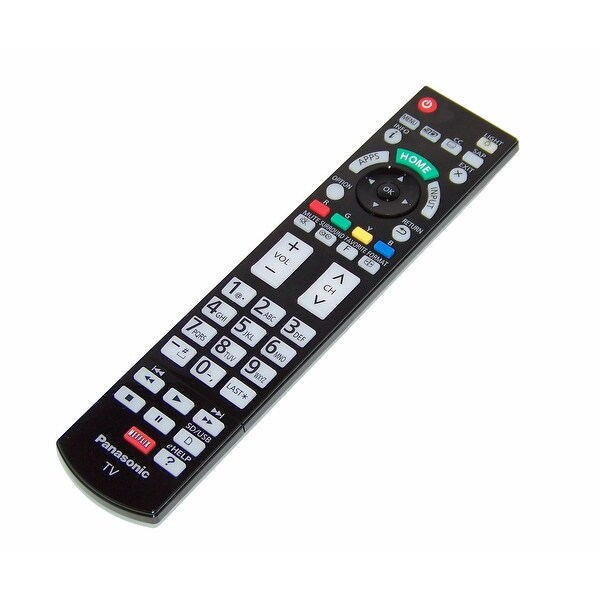 OEM Panasonic Remote Control Originally Shipped With: TCP65VT60, TC-P65VT60, TCP65ZT60, TC-P65ZT60