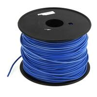 19/3 AWG Wire Copper Cores PVC Coated Sleeve RVV Cable Cord Blue 328 Feet