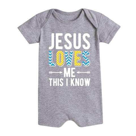 Jesus Loves Me This I Know - Infant Romper
