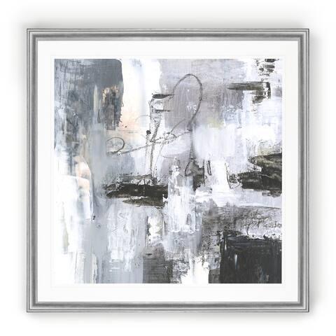 Cinder Composition I -Black Framed Print