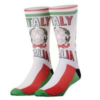 Odd Sox Italy Print Country Crew Socks - Italia - One size