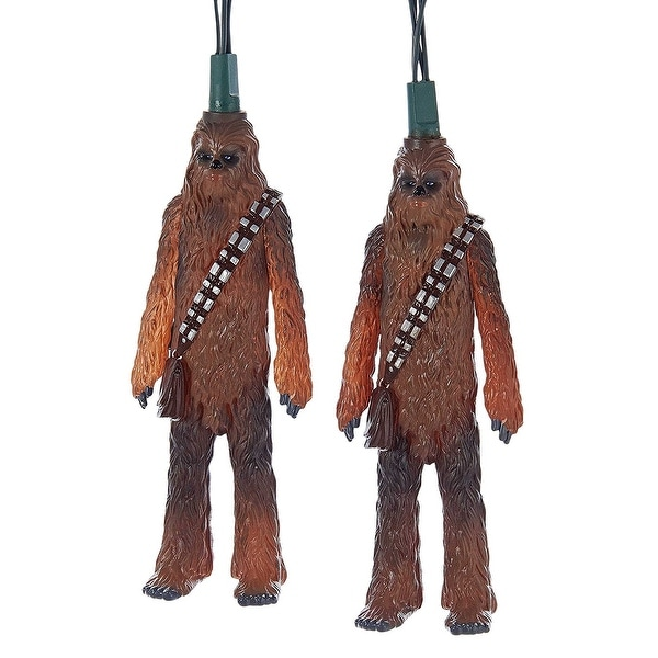 Star Wars Chewbacca Figure 10-Piece Party Light Set