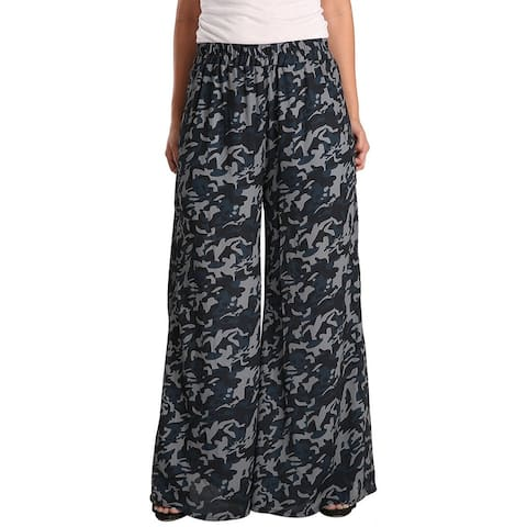 Standards & Practices Camo Palazzo Pant