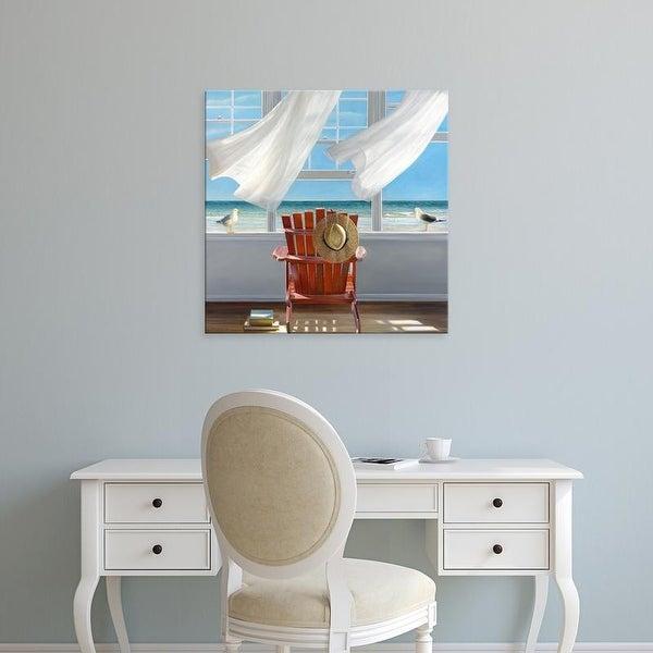 Easy Art Prints Karen Hollingsworth's 'Lookout' Premium Canvas Art