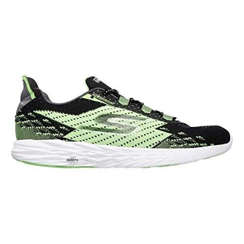Skechers Men's GOrun 5 Running Shoe,BlackGreen,US 10.5 M BlackGreen