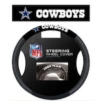 Fremont Die Inc Dallas Cowboys Poly-Suede Steering Wheel Cover Steering Wheel Cover